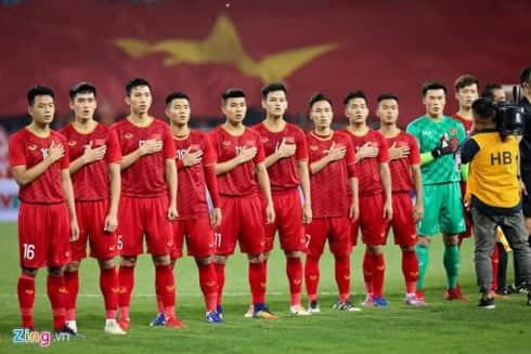 Đội hình U22 Việt Nam (Nguồn: Zing)