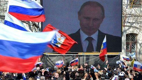 Tổng thống Putin vấp phải nhiều chỉ trích của các lãnh đạo phương Tây (Ảnh: AFP)
