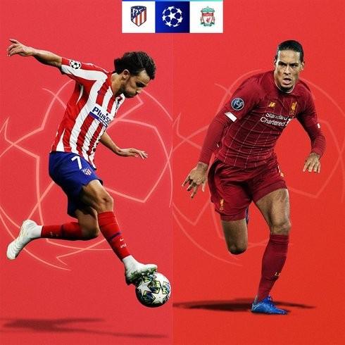Atlético Madrid với nhiệm vụ cản bước ĐKVĐ Liverpool