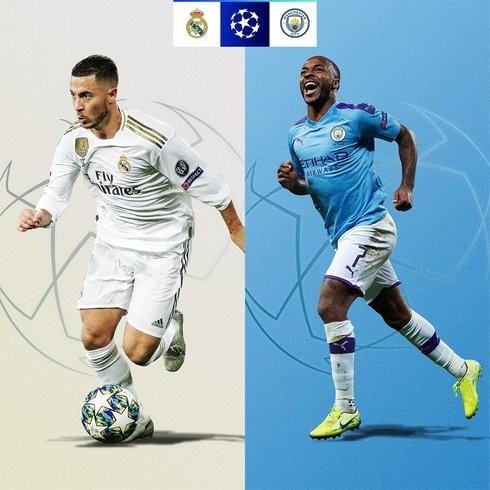 Real Mardid - Manchester City: Cặp đấu đáng chờ đợi nhất vòng 1/8 Champions League năm nay
