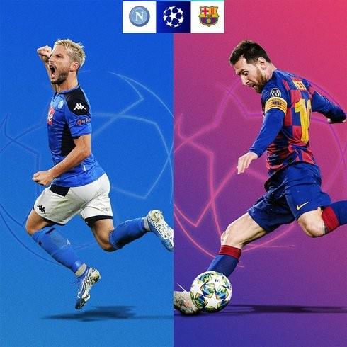 Napoli - Đối thủ nhẹ nhàng dành cho Messi cùng các đồng đội trên hành trình xưng vương tại Champion League 2019-2020
