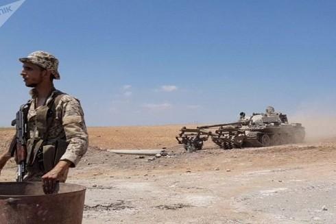 Lực lượng SAA ở mặt trận Idlib