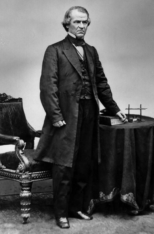 Andrew Johnson - Tổng thống Mỹ đầu tiên trong lịch sử bị đưa ra luận tội