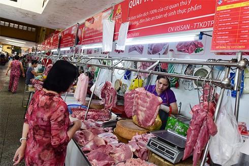 Giá thịt lợn tăng cao mức kỷ lục