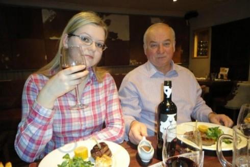 Cựu điệp viên hai mang của Nga Sergei Skripal và con gái Yulia