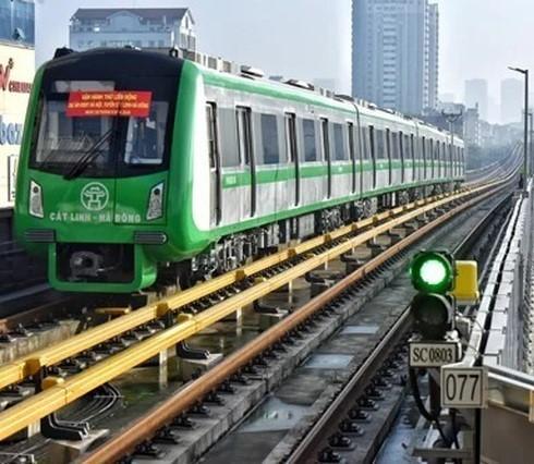 Tuyến đường sắt Cát Linh - Hà Đông được trang bị 2 đường điện song song độc lập, giúp tàu vận hành bình thường trong trường hợp mất điện
