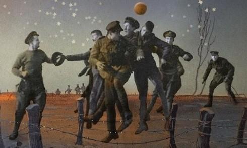 Trận đấu bóng đá giữa binh lính Anh và Đức đã trở thành một phần lịch sử tạo nên văn hóa bóng đá ngày Boxing Day ở Anh