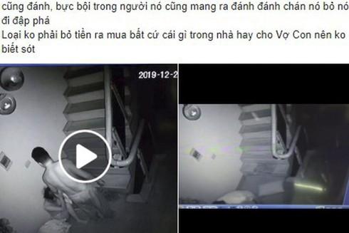 Chồng đánh vợ như thời trung cổ ở Phú Thọ trong đêm Noel