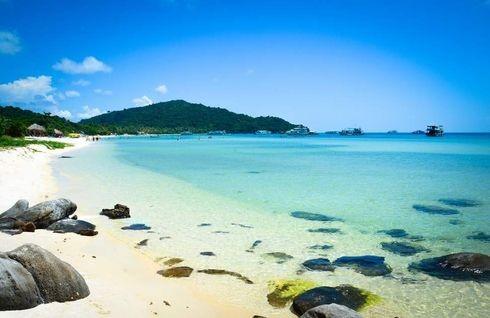 Phú Quốc nổi tiếng với những bãi biển tuyệt đẹp