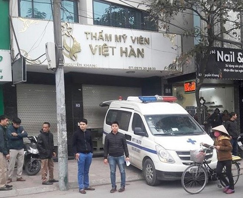 Một người đàn ông tử vong sau khi hút mỡ bụng tại Thẩm mỹ viện Việt Hàn