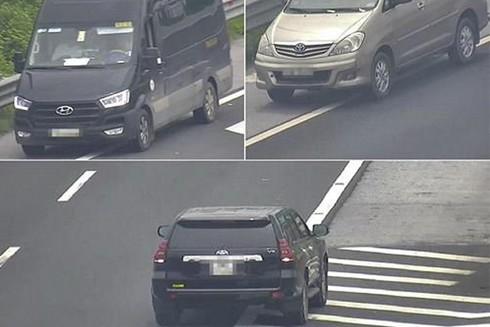 Hàng loạt vụ xe đi lùi trên cao tốc gây nguy hiểm