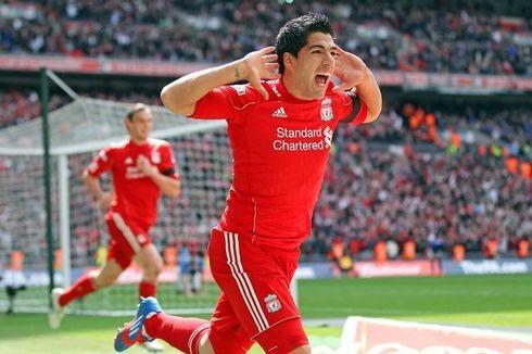 """Luis Suarez đã từng được các CĐV Liverpool rất yêu mến trong quãng thời gian hơn 3 năm khoác áo """"The Kop"""""""