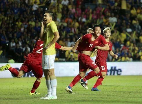 Bóng đá Việt Nam khẳng định vị thế số 1 Đông Nam Á tại King's Cup 2019