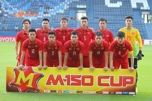 U23 Việt Nam tại M150 Cup 2017