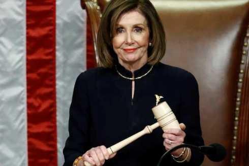 Bà Nancy Pelosi - Chủ tịch Hạ viện Mỹ