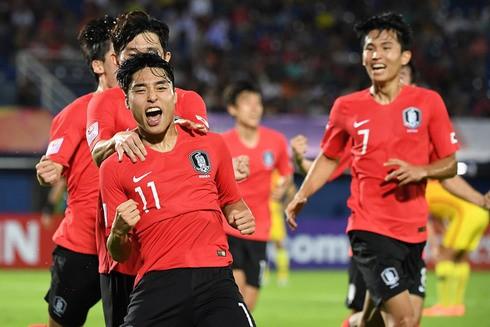 U23 Hàn Quốc là đội bóng duy nhất giành được 9 điểm tuyệt tối tại vòng bảng VCK U23 châu Á