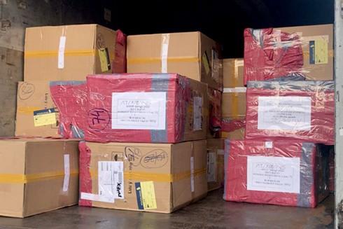 [AUDIO 8-2-2020] Phát hiện lô hàng 150 nghìn chiếc khẩu trang không rõ nguồn gốc