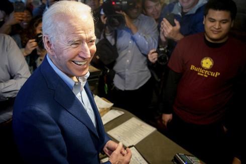 Ứng cử viên Joe Biden giành chiến thắng tại 5 tiểu bang gồm Alabama, Bắc Carolina, Oklahoma, Tennessee và Virginia