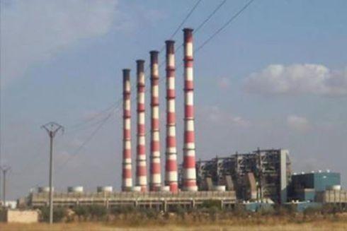 Hình ảnh nhà máy điện ở tỉnh Al-Hasakah trước khi bị phiến quân tấn công