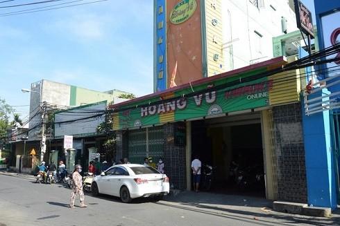 Quán karaoke Hoàng Vũ, nơi gần 68 người bị bắt quả tang dùng ma túy.