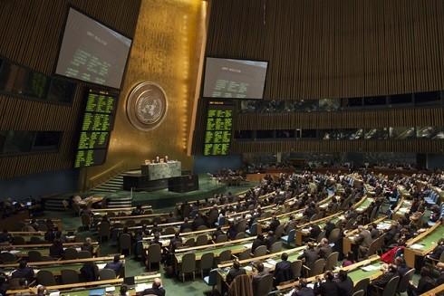 Một phiên họp ở Liên Hợp Quốc (Ảnh minh họa: Reuters)