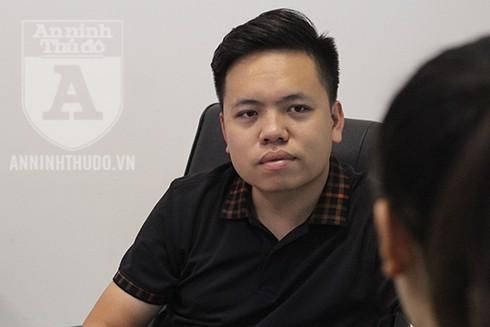 Ông Vũ Mạnh Hưng trao đổi về xu thế chuyển dịch sang truyền thông trên mạng xã hội của các doanh nghiệp hiện nay