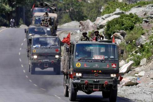 Quân đội Ấn Độ đã được tăng cường tại khu vực biên giới sau khi đụng độ xảy ra
