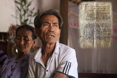 """Ông Trần Ngọc Chinh - người muốn VKSND tỉnh Vĩnh Phúc bồi thường số tiền hơn 12 tỷ đồng vì đã hàm oan ông tội """"Giết người"""" vào năm 1980"""