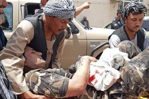 Một nhân viên an ninh của NDS bị thương sau cuộc đụng độ với phiến quân Taliban