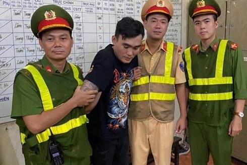 Đối tượng Hoàng Ngọc Điệp bị bắt giữ