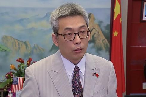 Tổng lãnh sự Trung Quốc tại Houston - ông Thái Vĩ (Ảnh: Getty)