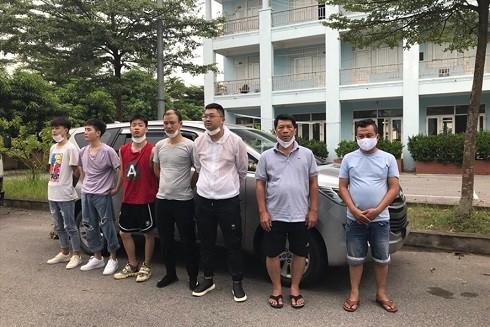 Nhóm người Trung Quốc nhập cảnh trái phép vào Việt Nam.