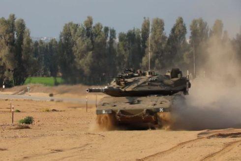 Xe tăng của Lực lượng Phòng vệ Israel (IDF)