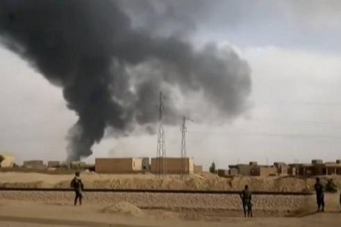 Iran tập trận phóng tên lửa về phía căn cứ quân sự Mỹ ở Qatar và UAE