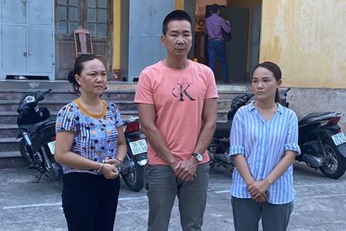 Ba đối tượng trộm cắp tài sản vừa bị Công an TP.Thanh Hóa bắt giữ