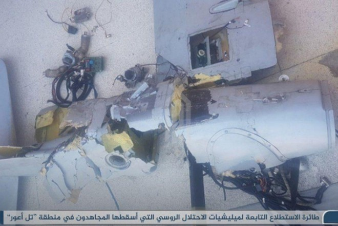 Máy bay không người lái của Nga bị bắn hạ trên bầu trời Syria?