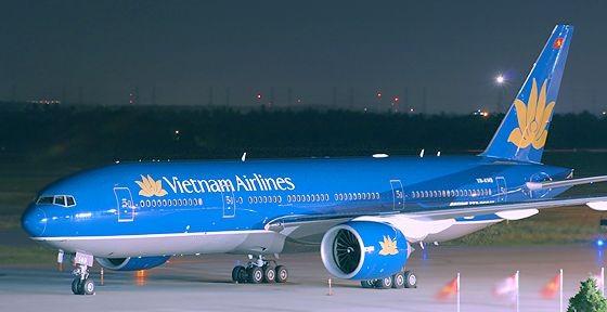 Máy bay của Vietnam Airlines. Ảnh minh hoạ