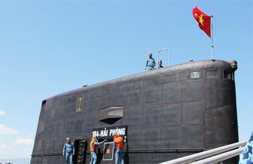 Hình ảnh tàu ngầm Kilo Việt Nam chào Xuân Ất Mùi ảnh 11