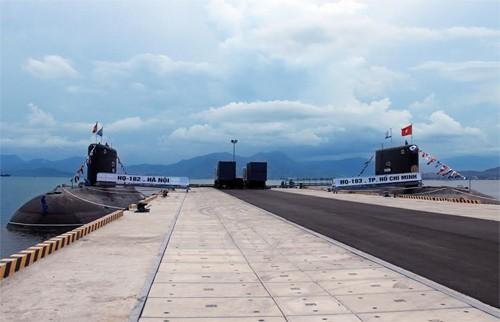 Hình ảnh tàu ngầm Kilo Việt Nam chào Xuân Ất Mùi ảnh 3