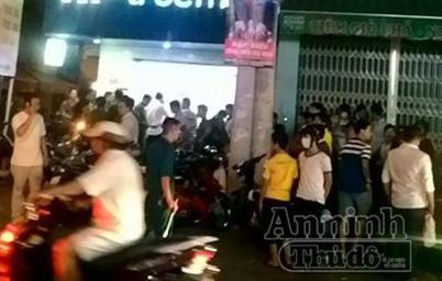 Vừa xảy ra vụ cướp tại cửa hàng sữa trên đường Hoàng Hoa Thám ảnh 1