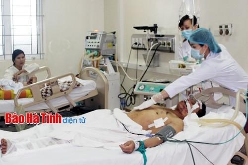 Bộ Y tế đã tăng cường y bác sỹ cho công tác cứu chữa người bị thương trong vụ tai nạn ở Formosa