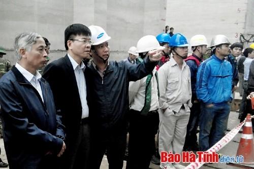 Vụ tai nạn ở Formosa (Hà Tĩnh): Huy động mọi nguồn lực, phương tiện cứu hộ người mắc kẹt