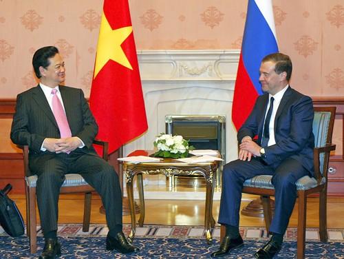 Thủ tướng Nguyễn Tấn Dũng trả lời phỏng vấn hãng thông tấn Itar - Tass ảnh 1