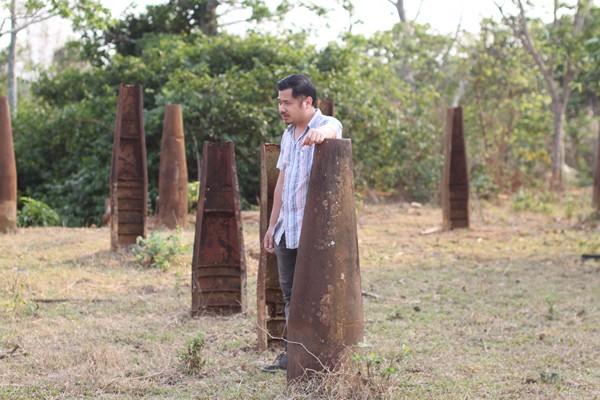 Một ngôi làng ở Lào có rất nhiều vỏ bom Mỹ