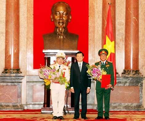 Thứ trưởng Bộ Công an Bùi Quang Bền được phong hàm Thượng tướng ảnh 2