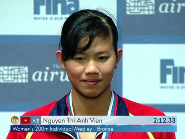 Tuyệt vời: Ánh Viên đoạt Huy chương đồng Cúp thế giới 2015 ảnh 5