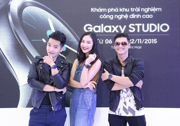Trải nghiệm công nghệ với Galaxy Studio lần đầu tiên ở Việt Nam
