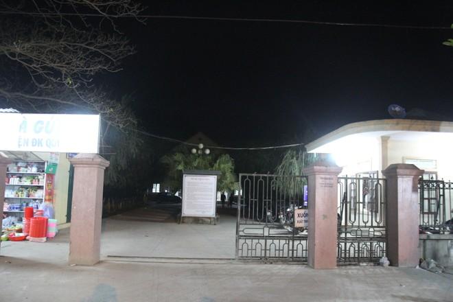 Bệnh viện đa khoa huyện Quỳnh Lưu nơi gia đình cháu T. đưa thi thể đến đòi chịu trách nhiệm