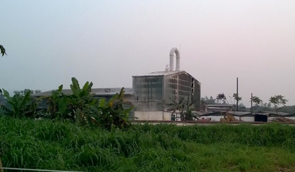 Nhà máy sắn nơi xảy ra vụ nổ