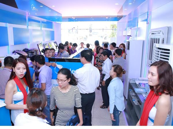 Khai trương Midea showroom tại Hà Nội ảnh 1